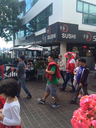 North Vancouver, Canadá: A perfect location right at the seabus terminal