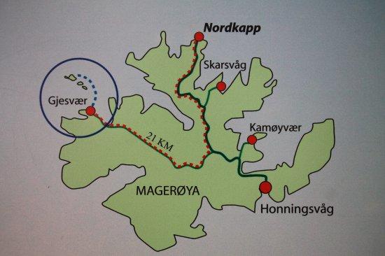 Gjesvær, Norge: Ilha de Mageroya e os caminhos da aventura.