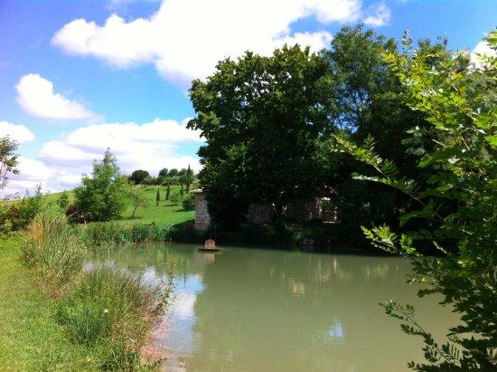 Saint-Nexans, فرنسا: l'étang