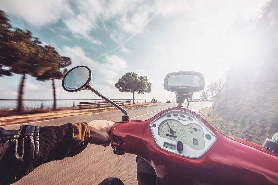 Via Vespa Rent a scooter