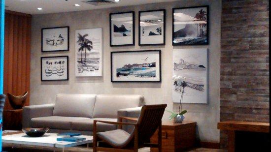 Mar Ipanema Hotel: Recepción