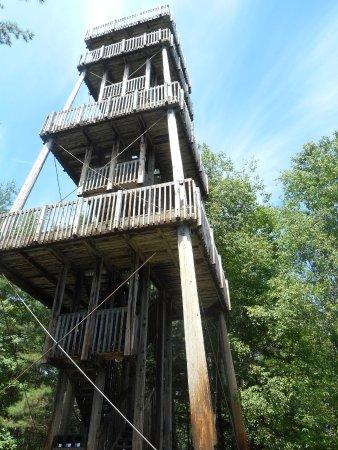 Parc de la Gorge de Coaticook: la tour Couillard