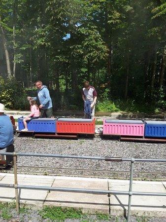Mizens Railway: Families enjoying their day out
