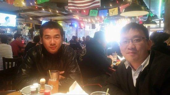 Sagebrush Cantina : International friends