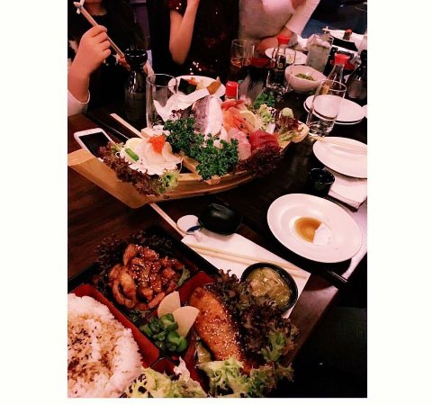 af1282231967 Sushi Zento Muswell Hill Japanese Restaurant. Party - Picture of ...
