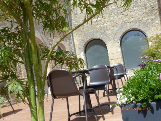 Saint-Vigor-le-Grand, Fransa: la terrasse