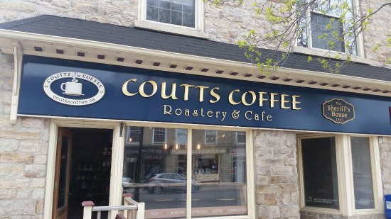 Coutts Coffee Roastery & Cafe: View from the street.