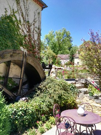 Auriac-du-Perigord, Frankrike: Le Moulin de Mitou