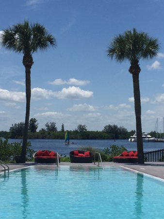 Port Saint Lucie, FL: View from Adult Pool