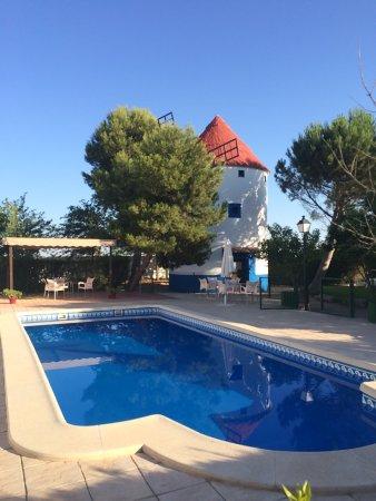 Casas de los Pinos, Espagne : Hotel Bodega la Venta