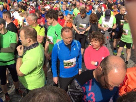 Gasthaus und Hotel Spreewaldeck: Start Spreewaldmarathon