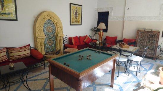 Riad Abaca Badra: Lounge area
