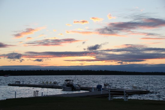 Baileys Harbor, WI: Sunset on North Bay