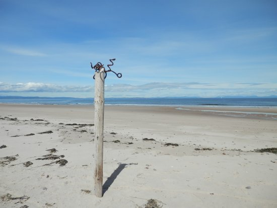Forres, UK: The beach