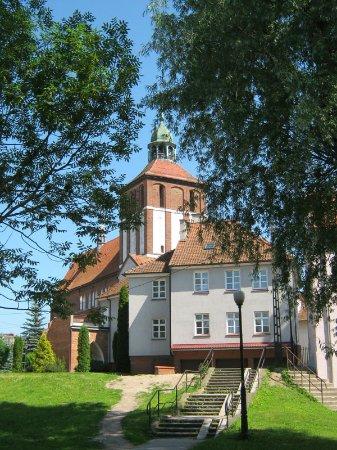 Bartoszyce, بولندا: костел