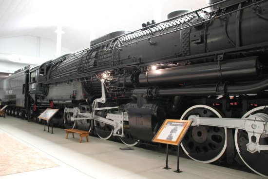 the monster articulated steam engine big boy picture of rh tripadvisor in