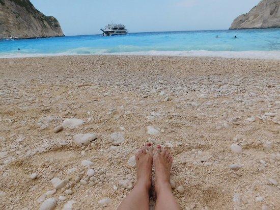 Plage de Navagio : Cała plaża moja :)!!!