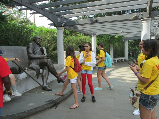 George Mason Memorial: fun for students