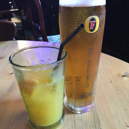 Fenwick, UK: Our drinks