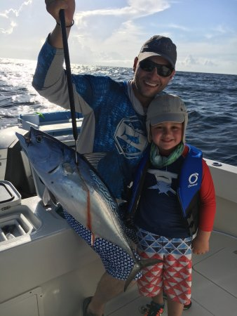My biggest fish ever picture of no vacansea private for Hollywood florida fishing charters