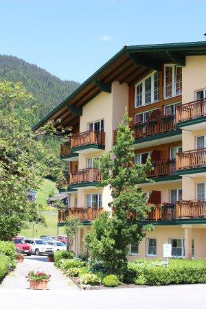 Ferienhotel Fernblick: 山小屋風の外観
