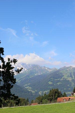 Ferienhotel Fernblick : 朝から青空と新鮮な空気がお出迎え