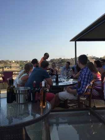 Tal-Massar Winery: Wine tasting in the beautiful vineyard at Gharb.