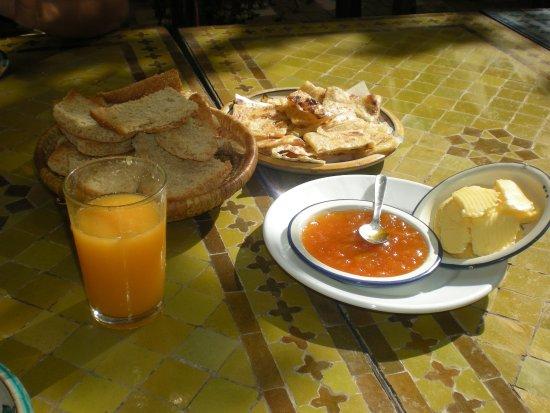Hotel Riad Casa Hassan Restaurante: Desayuno