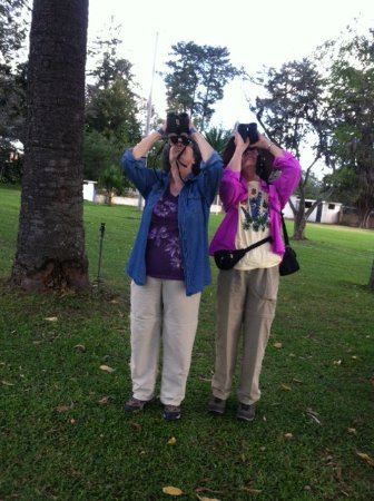 Puembo, Ekwador: Birding at the hotel