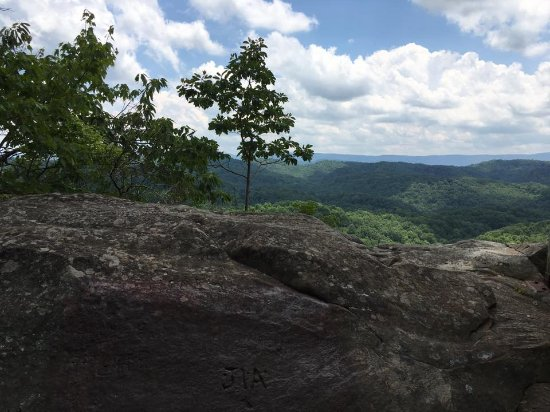 Bramwell, Virginia Barat: view from the top