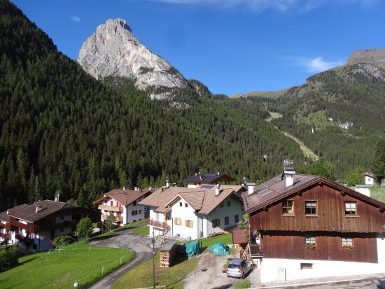 Dolomites Inn: View from our room