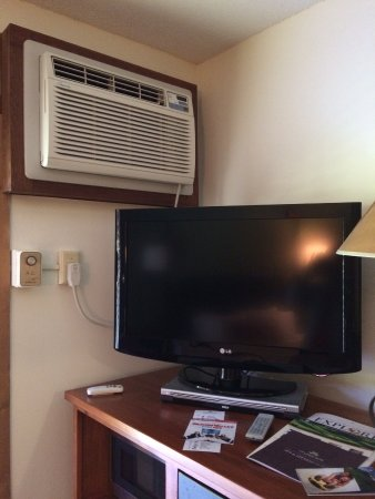 Crystal Mountain: You can hear the TV or the AC, pick one.