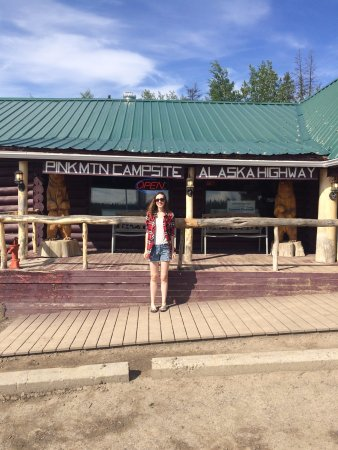 Pink Mountain Campsite - the picturesque store