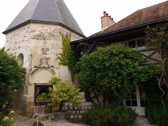 Sainte-Maure-de-Touraine, Γαλλία: Vue sur la tour