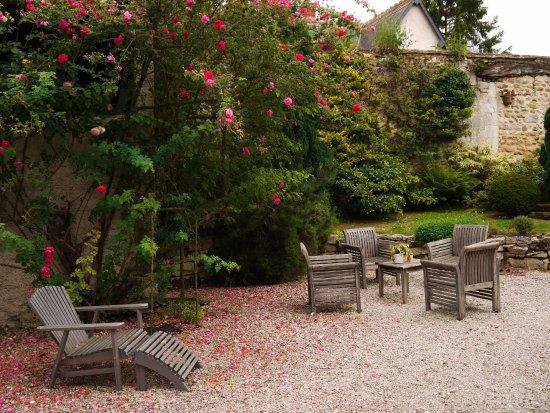 Sainte-Maure-de-Touraine, Γαλλία: Jardin