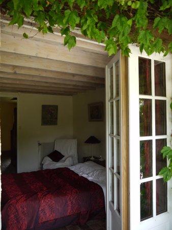 "Sainte-Maure-de-Touraine, Γαλλία: Chambre ""Pourpre"""