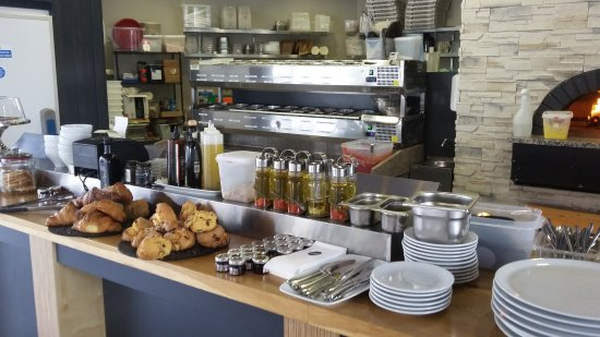 Ballincollig, Irlandia: Sliced also serves breakfast which includes beautiful scones cooked in the restaurant in the mor