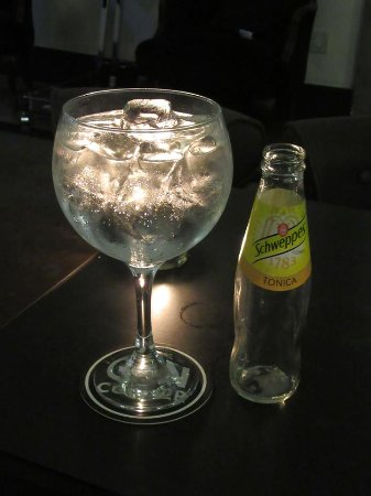 Hotel Adriano: Large gin and tonic!