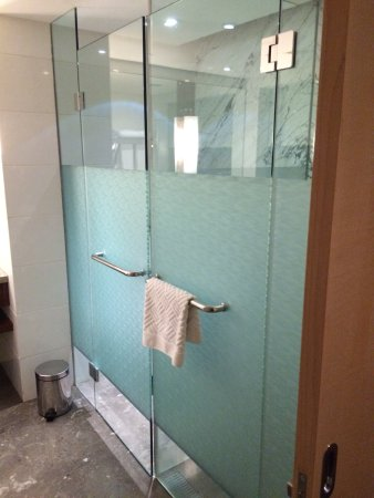 Glass Enclosed Shower glass enclosed shower with separate glass enclosed toilet