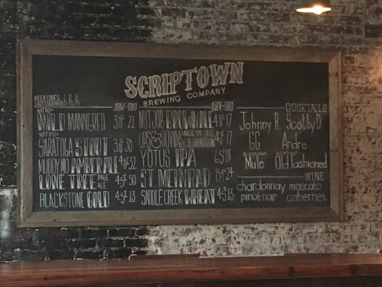 ‪Scriptown Brewing Company‬