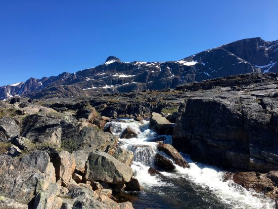 Sisimiut, Greenland: River with nice fresh water