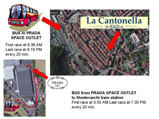 La Cantonella : From Montevarchi to Prada