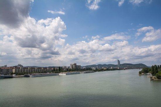 Hotel Lenas Donau: Vistas del Danubio