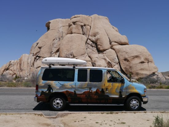 Jumbo Rocks Campground: met campervan een roadtrip door South-West USA