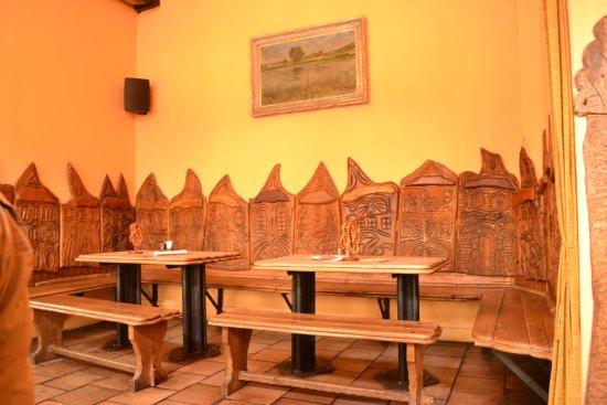 U Betlemske kaple : Restaurant dining room