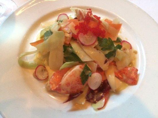 Emeril's New Orleans: Lobster salad!
