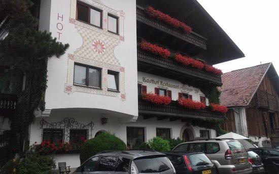 Aldranser Hof : Vista externa
