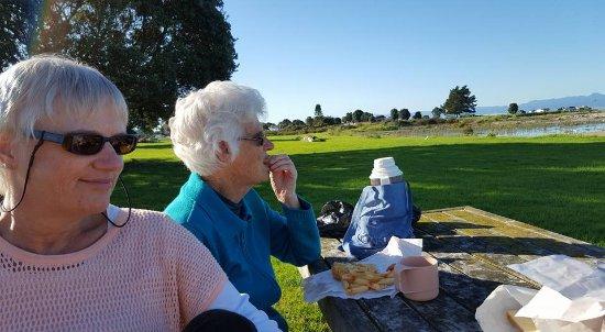 Waiuku, Nowa Zelandia: Lunchtime!