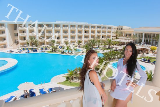Royal Thalassa Monastir: piscine