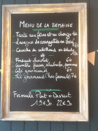 Montfort-l'Amaury, France : Un repas super👍